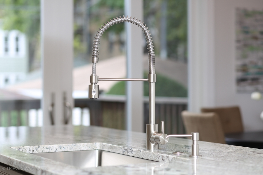 Kitchen Faucet, Balmoral Restoration, Chicago