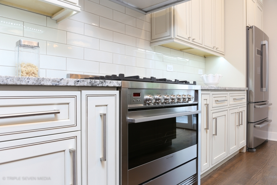 Kitchen Range, Balmoral Restoration, Chicago