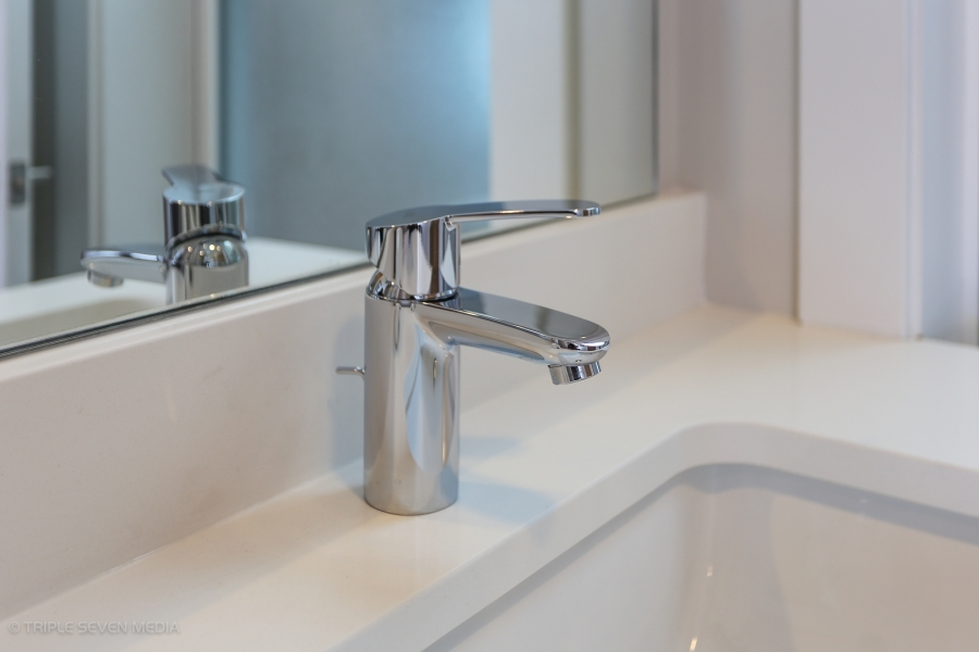 Master Bathroom Faucet, Balmoral Restoration, Chicago